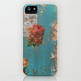 Vintage 3 iPhone Case