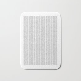 The Number Pi to 10000 digits Bath Mat