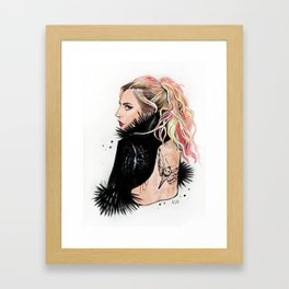 Heavy Metal Lover Framed Art Print
