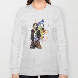 Han Solo From Star Wars  Long Sleeve T-shirt