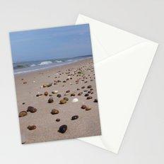 Shiney Stoney Beach - Nairn Scotland - Stones Stationery Cards