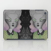 outer space iPad Cases featuring Ghoul from Outer Space by lOll3