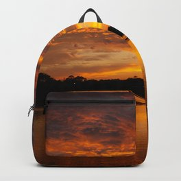 Fire Clouds Backpack