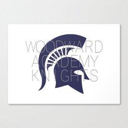 WA knights Canvas Print