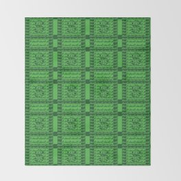 Lucky Money  (USD) Throw Blanket