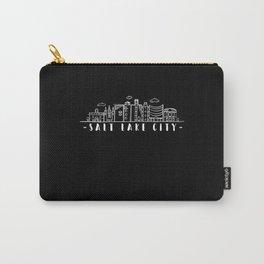 Salt Lake City Utah Skyline Carry-All Pouch