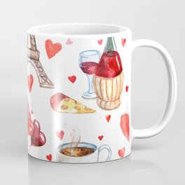 Paris & France symbols pattern Coffee Mug