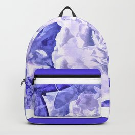 The Gathering Of The Peonies And Butterflies Backpack