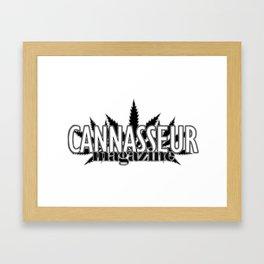 Cannasseur Magazine Framed Art Print