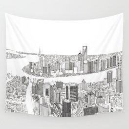 Shanghai Wall Tapestry