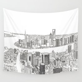 Shanghai Wall Tapestry