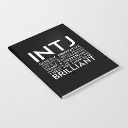 INTJ (black version) Notebook