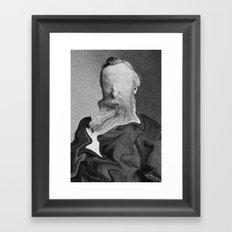 No Man Framed Art Print