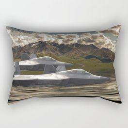 Fighter Jets Rectangular Pillow