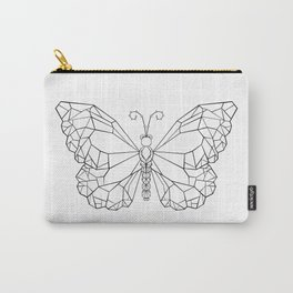 Polygonal Butterfly Monarch Carry-All Pouch