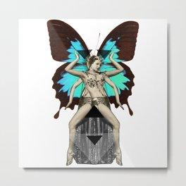 Butterfly Priestess  Metal Print