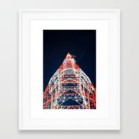 dallas Framed Art Prints featuring Dallas by stawickiphoto
