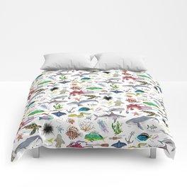 Under the Sea Alphabet Comforters