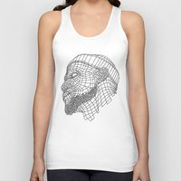 lebron Tank Tops featuring Basketball King by NEW YORK STUDIO 202