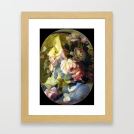 Rose is a rose is a rose is a rose Framed Art Print