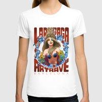 artrave T-shirts featuring BARCELONA VENUS: ARTRAVE by Felipe Jiro