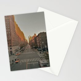 The Yellow Muted City (Color) Stationery Cards