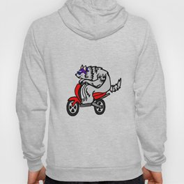 Scooter Old Wolf Hoody