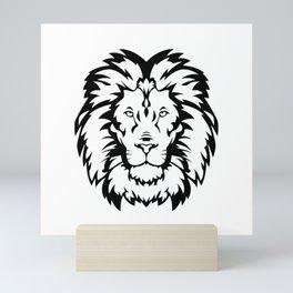 Head Wild Cat Mini Art Print