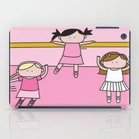 ballet iPad Cases featuring Ballet by oekie