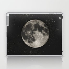 The Moon  [Sans Type] Laptop & iPad Skin
