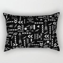 Follow The Arrows Rectangular Pillow