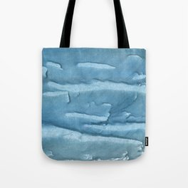 Cadet blue colored watercolor pattern Tote Bag