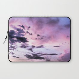 fly up to the blue pink sky Laptop Sleeve