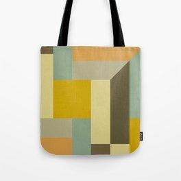 Retro Geometry IV Tote Bag