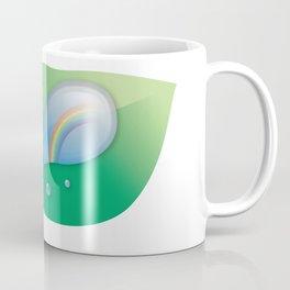 Rainbow reflected in a Drop of water Coffee Mug