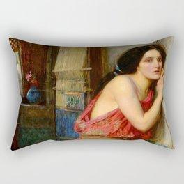 """John William Waterhouse """"Thisbe"""" Rectangular Pillow"""