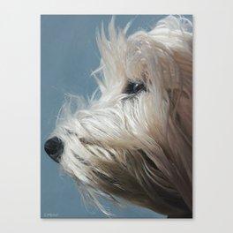 Westie Canvas Print