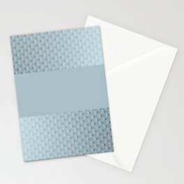 Blue mother of pearl Stationery Cards