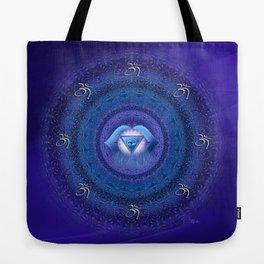 Ajna Chakra Mandala  Tote Bag