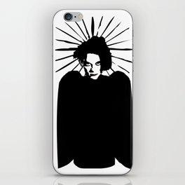 Robert Smith icon saint art iPhone Skin