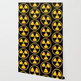 Yellow Radioactive Wallpaper