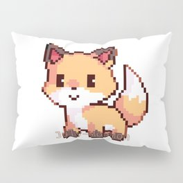 Kawaii Fox Pillow Sham