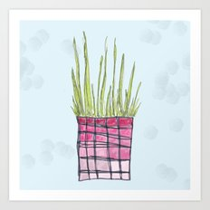 Little Potted Plant Art Print