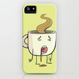cup of morning coffee iPhone Case