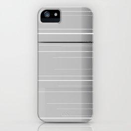 Narrow lights iPhone Case