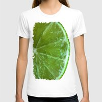 lime green T-shirts featuring Lime Green and Fresh by BluedarkArt