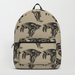 Ancient Warrior (Sabertooth Skull) Backpack