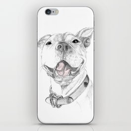 A Smile is Worth a Thousand Words :: A Pit Bull Smile iPhone Skin