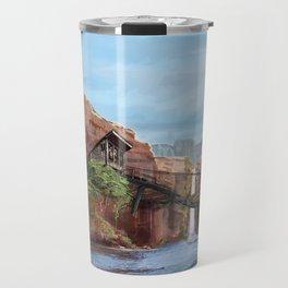 Waterfall Settlement Travel Mug