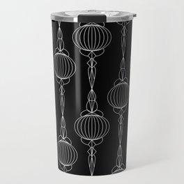 Art Deco 52 . Christmas decorations . Travel Mug